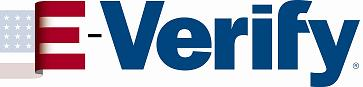 E-Verify Logo - We use E-verify in our green cleaning business